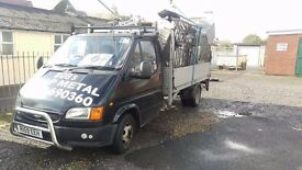 FORD TRANSIT DROP SIDE WITH TAIL LIFT 1999
