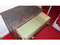 Vintage 3 draw chest