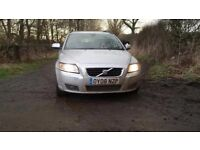 2008 VOLVO V50 DIESEL ESTATE,WITH TOW BAR,POSS P/EX SWAP