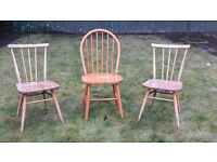[on hold] Free: 4 wooden chairs