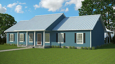 Custom Home House Plan  1920 Square Foot