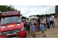 ICE CREAM VANS HIRE FOR CORPORATE EVENTS MR WHIPPY ICECREAM VAN WATFORD STEVENAGE LONDON LUTON