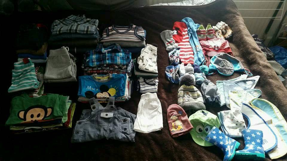 Baby boys bundle 6-9 months 60 items