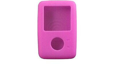 Creative - Silicone Skin Case for Zen V - Pink - NEW