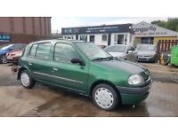 """""""TRADE IN TO CLEAR"""" RENAULT CLIO GRANDE 1.2 (2000) - 5 DOOR - LOW MILEAGE - LONG MOT - HPI CLEAR!"""