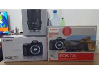 urgent sale canon 70d brand new look like only 700 £ with lens