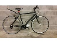 FULLY SERVICED RIDGEBACK HYBRID WITH ALUMINIUM FRAME AND CARBON FORK BICYCLE