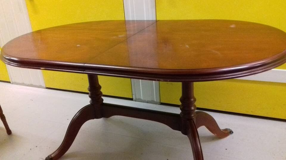 Regency Dining TablemahoganyCMstablenonextendable - Table for office use