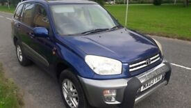 image for toyota rav4 5 door 4x4 very low miles full service history fantastic condition no rust drives superb