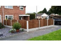 FENCING MATERIAL SUPPLY FOR SALE 10xPanels/10xGravel boards/11xPosts+Delivery