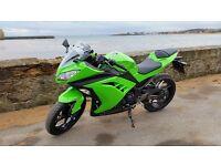 Immaculate condition Kawasaki Ninja 300 only 1100 miles