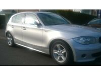 2005-bmw 116i se 1.6cc model 5-door silver alloys park sensors spotless inside & out £1795