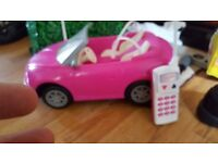 radio controlled year 2000 barbie car