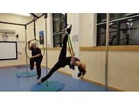 Aerial Fitness Classes; Aerial Yoga, Aerial Hoop and Pole Gymnastics