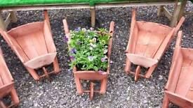 Garden wheelbarrows