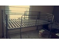 Kids bunk bed frame one year old peffect condition