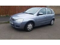 vauxhall corsa 1.2 ecotec 5 door 2006 06 low miles 2 keys 3 owners good condition drives very well