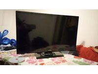 JMB 22 inches led tv/DVD slim in mint condition builtin freeview as well
