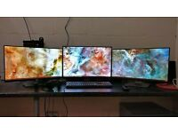 Dell u2124h monitors (x2)