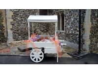 Candy cart & vintage items for hire