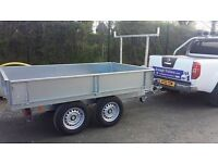 8x5 DROPSIDE BUILDERS TRAILER ALSO AVAILABLE WITH REMOVABLE MESHSIDES