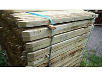 3ft treated tree stakes --fencing markers