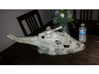 Large helicopter ornament for fish tank RRP £75