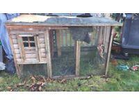 rabbit/chicken hutch coop
