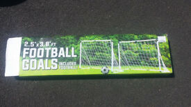 Football goals for young children.