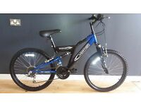 VERTIGO ROCKFACE BOYS SUSPENSION MOUNTAIN BIKE