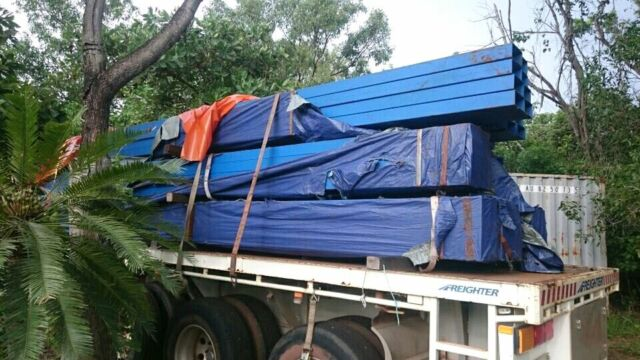 Steel For Sale Painted Building Materials Gumtree