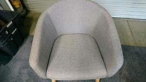 Tub Chair Grey Excellent condition Kogarah Rockdale Area Preview
