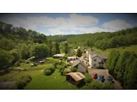 Looe Cornwall. A group of 7 fully let country cottages with high return on large site with station.