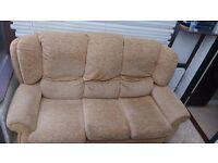 Set of Couch and 2 Armchairs