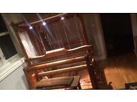 """Floor Weaving Loom with 12 shafts, """"Thurin"""" Swedish make, similar to a Glimakra"""