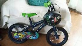 Ben 10 bike matching helmet