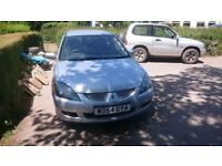 Mitsubishi lancer Estate. No MOT, Windscreen has a crack and needs new brakes