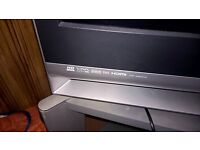 """Sony 50"""" Projector Tv with HDMI, Toshiba VHS and stand"""