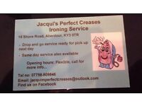 Jacquis Perfect Creases - Ironing Service, Aberdour