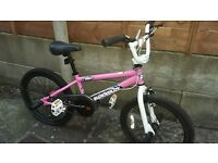 "Diamondback Grind Pink 20"" BMX Bike"