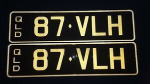 QLD PPQ PLATES- 87-VLH Rothwell Redcliffe Area Preview