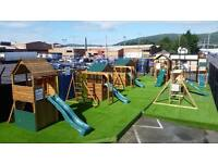 NEED A CLIMBING FRAME -BEST QUALITY AND CHEAPEST PRICES GUARANTEED BIG DISPLAY SHED FACTORY BELFAST