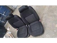 2 x front seats from a mk4 VW Golf 5dr