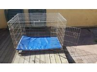 Xxxl dog cage. Fits fully grown plus german shepherd in