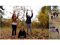 ***Autumn family / portrait photography from ONLY £35***