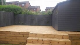 Fence painting-Shed-DeckingPainting,staining /moss removal-Good Rates-Free Online Quote