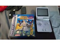 %RETRO% Gameboy Advance SP with games