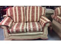 Three seater sofa and matching two seater £100 the set