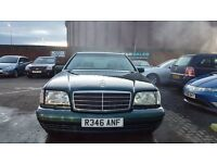 """""""TRADE IN TO CLEAR"""" MERCEDES S CLASS (1998) - S320 - LONG MOT - AUTOMATIC - HPI CLEAR!"""