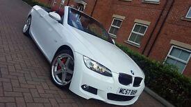 2008 BMW 325i SE Automatic M SPort White Convertible/Cabriolet 330i 3.0l 74k mileage